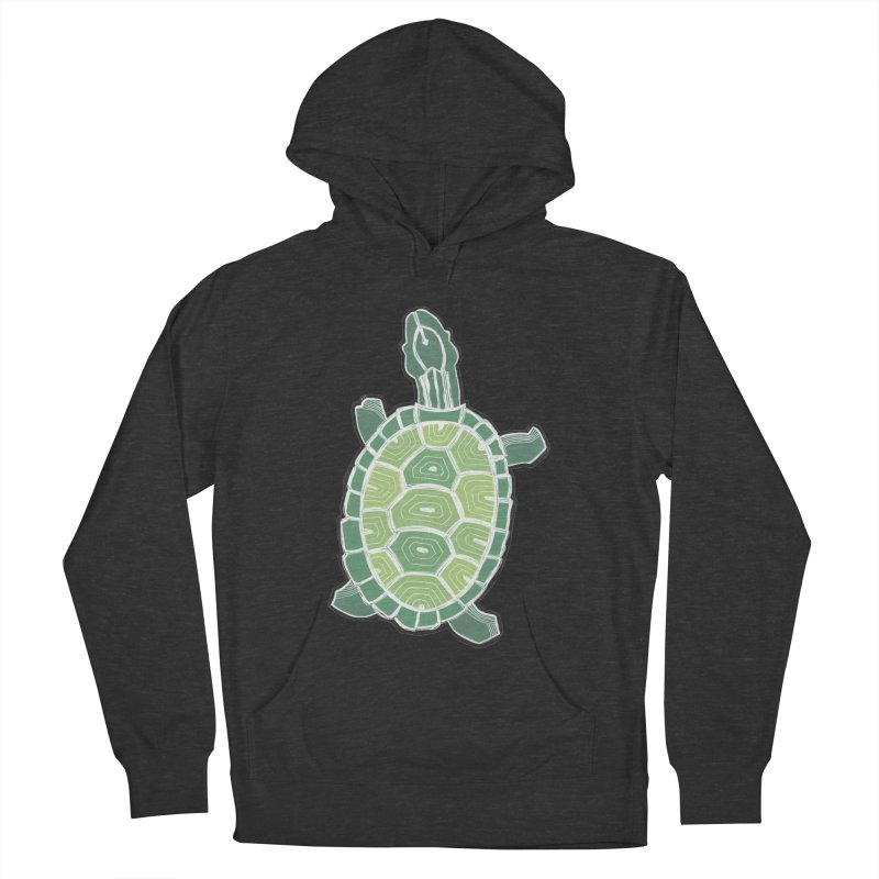 Turtle Men's French Terry Pullover Hoody by erintaniguchi's Artist Shop
