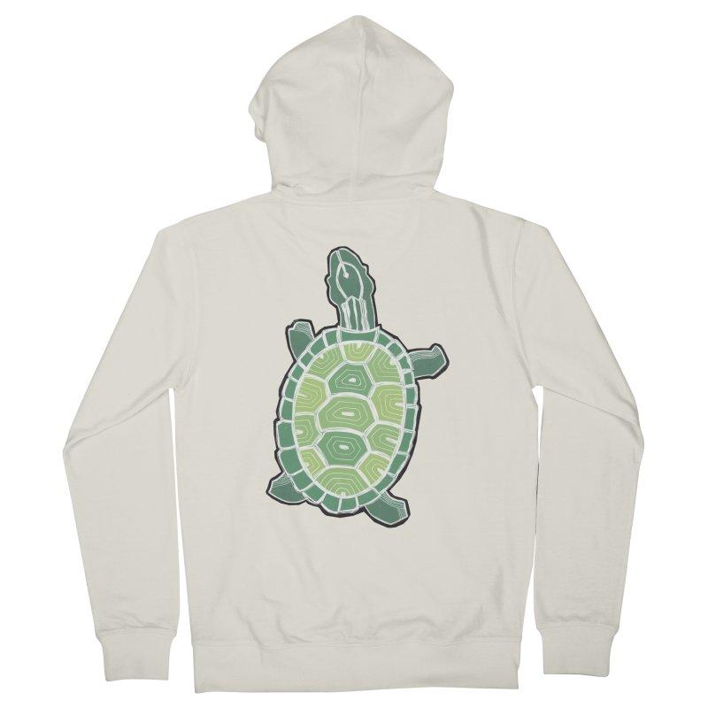 Turtle Men's Zip-Up Hoody by erintaniguchi's Artist Shop