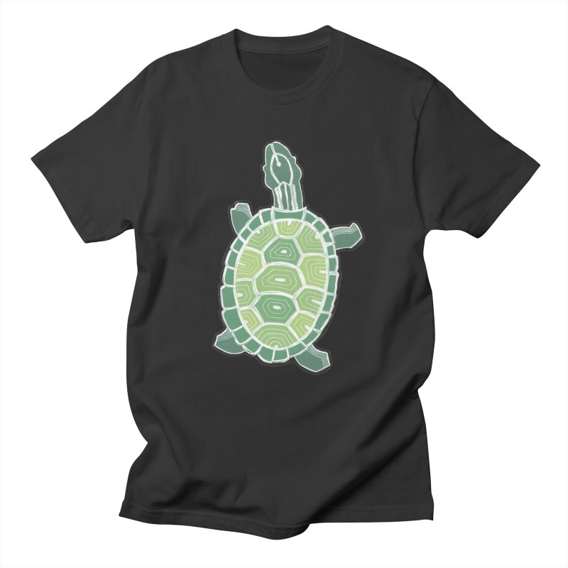 Turtle Men's Regular T-Shirt by erintaniguchi's Artist Shop