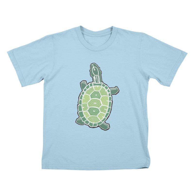 Turtle Kids T-Shirt by erintaniguchi's Artist Shop