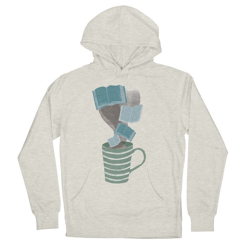 Winter Reading Women's French Terry Pullover Hoody by erintaniguchi's Artist Shop