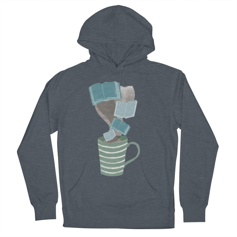 Winter Reading Men's Pullover Hoody by erintaniguchi's Artist Shop