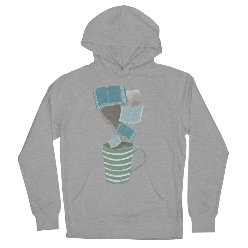 Winter Reading Men's French Terry Pullover Hoody by erintaniguchi's Artist Shop