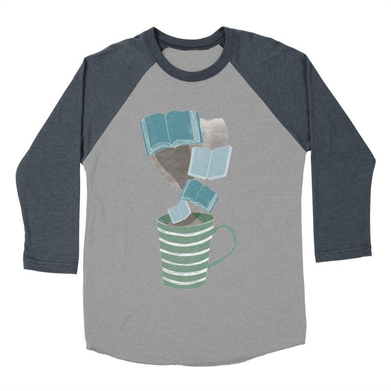Winter Reading Women's Baseball Triblend Longsleeve T-Shirt by erintaniguchi's Artist Shop