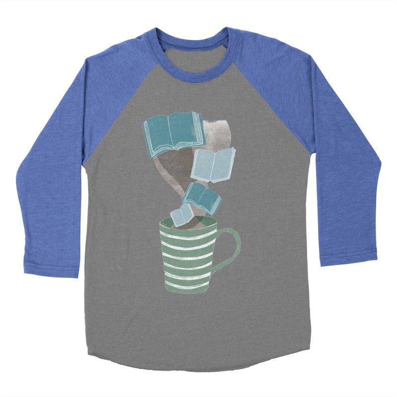 Winter Reading Men's Baseball Triblend Longsleeve T-Shirt by erintaniguchi's Artist Shop