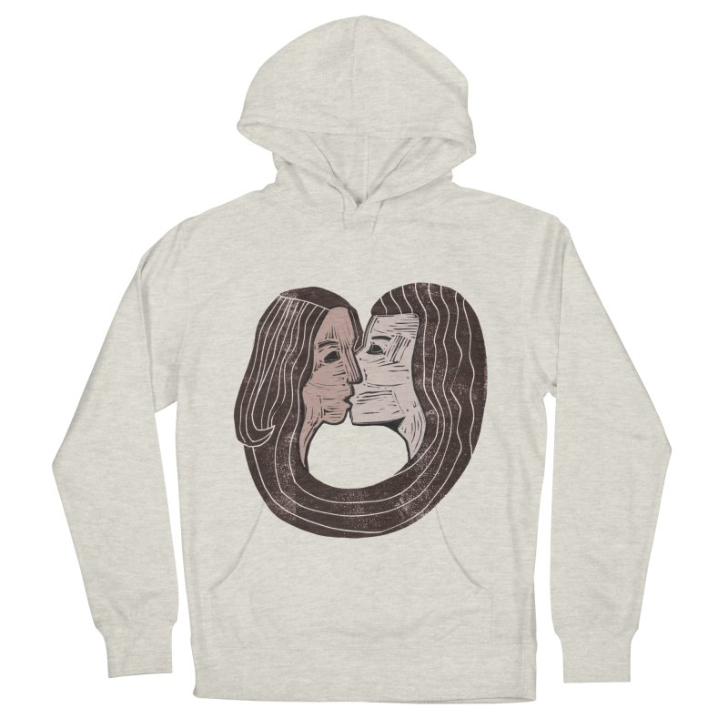 The Lovers Women's French Terry Pullover Hoody by erintaniguchi's Artist Shop