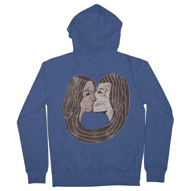 The Lovers Women's French Terry Zip-Up Hoody by erintaniguchi's Artist Shop