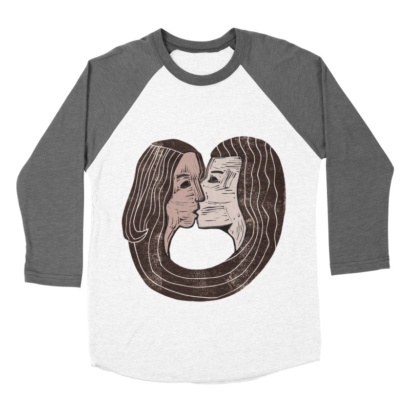 The Lovers Women's Baseball Triblend Longsleeve T-Shirt by erintaniguchi's Artist Shop
