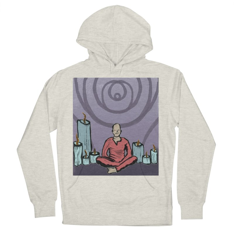 The Hermit Women's French Terry Pullover Hoody by erintaniguchi's Artist Shop