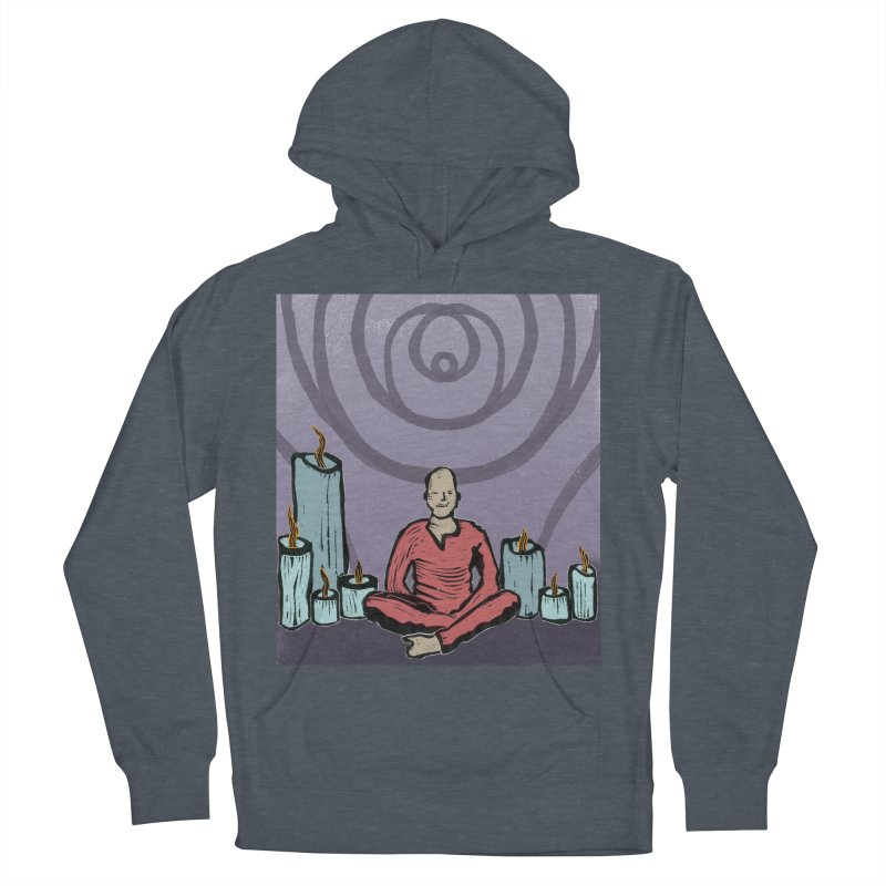 The Hermit Men's French Terry Pullover Hoody by erintaniguchi's Artist Shop