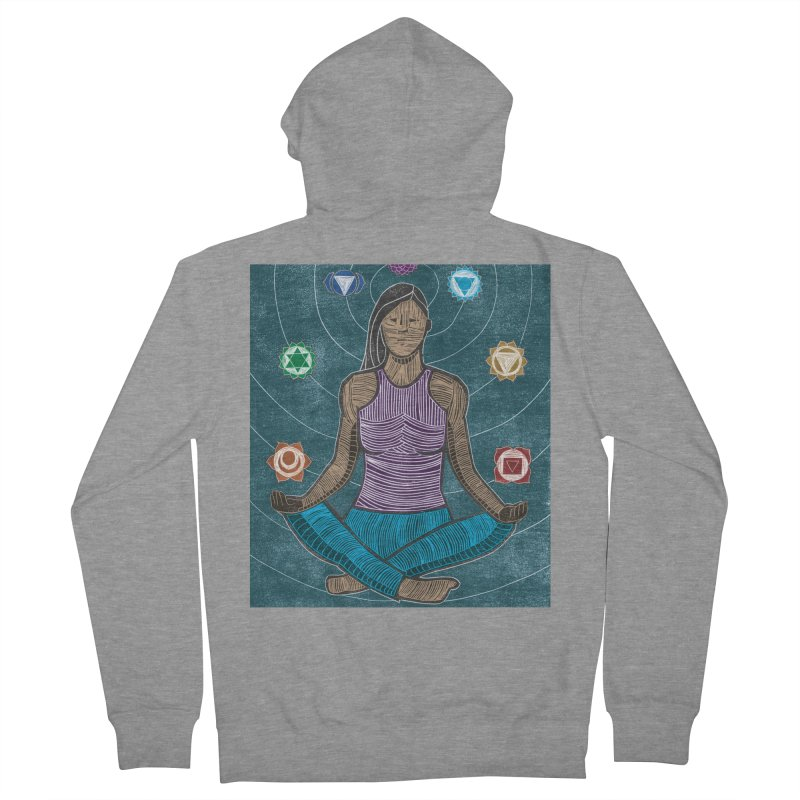 Temperence Women's French Terry Zip-Up Hoody by erintaniguchi's Artist Shop