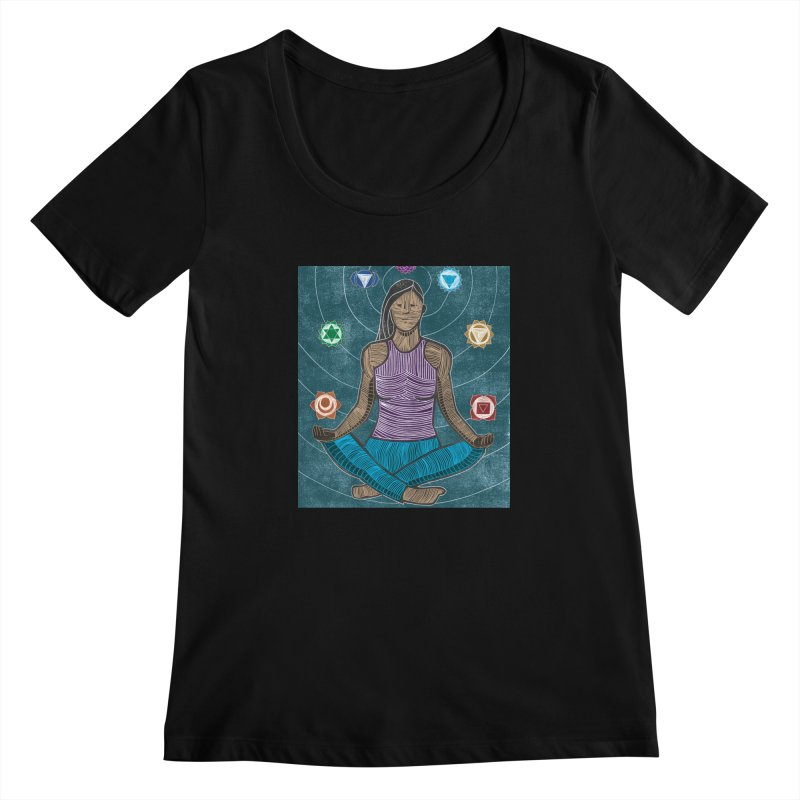 Temperence Women's Scoopneck by erintaniguchi's Artist Shop