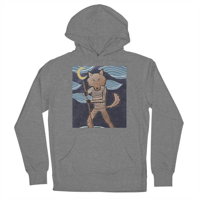 The Moon Men's French Terry Pullover Hoody by erintaniguchi's Artist Shop