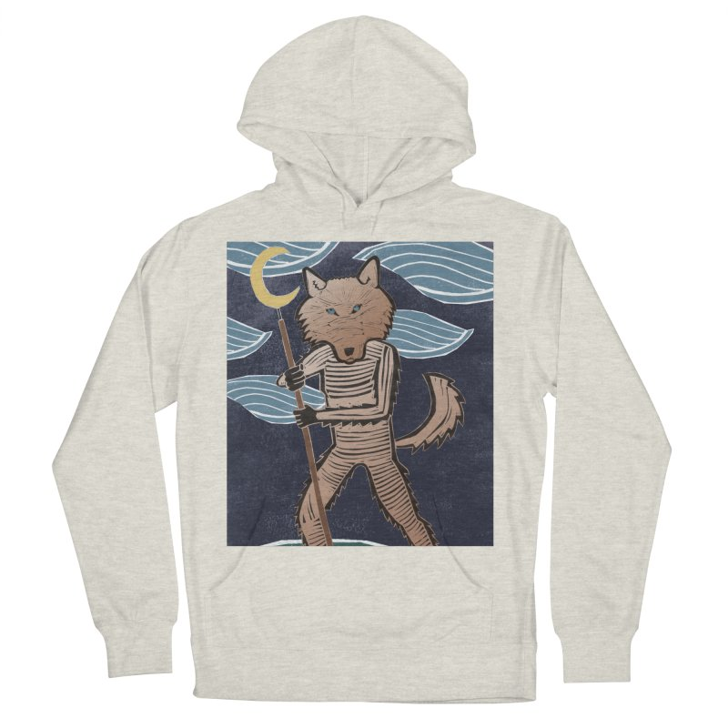 The Moon Women's French Terry Pullover Hoody by erintaniguchi's Artist Shop