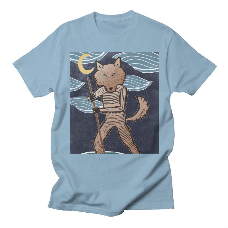 The Moon Men's T-shirt by erintaniguchi's Artist Shop