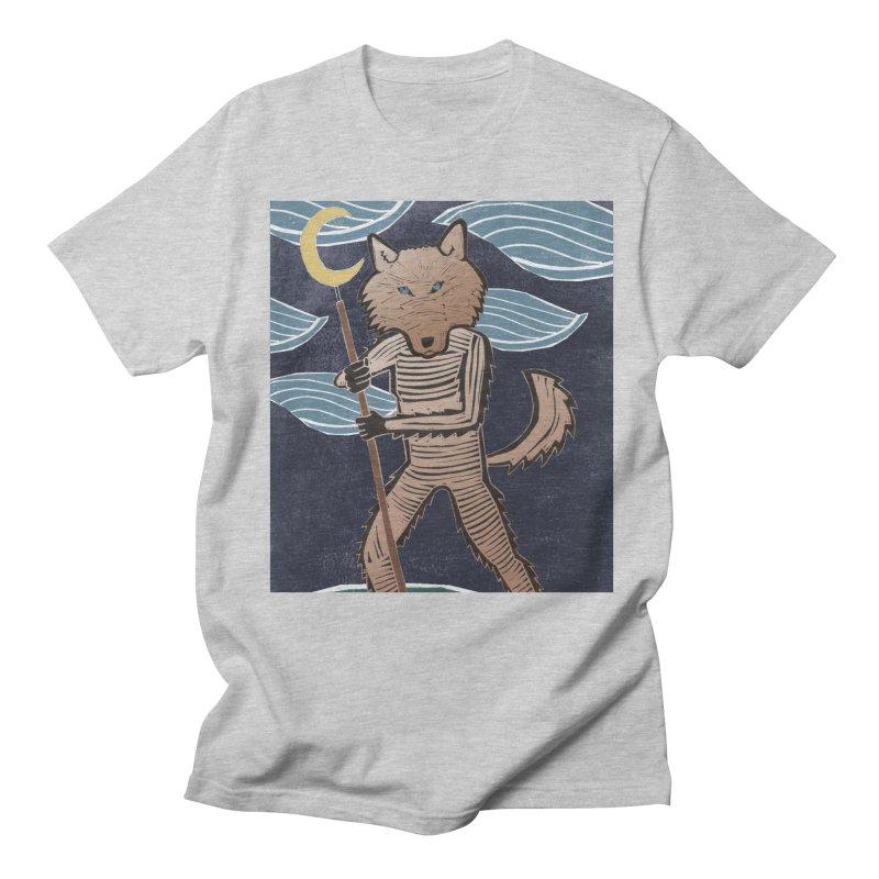 The Moon Men's Regular T-Shirt by erintaniguchi's Artist Shop