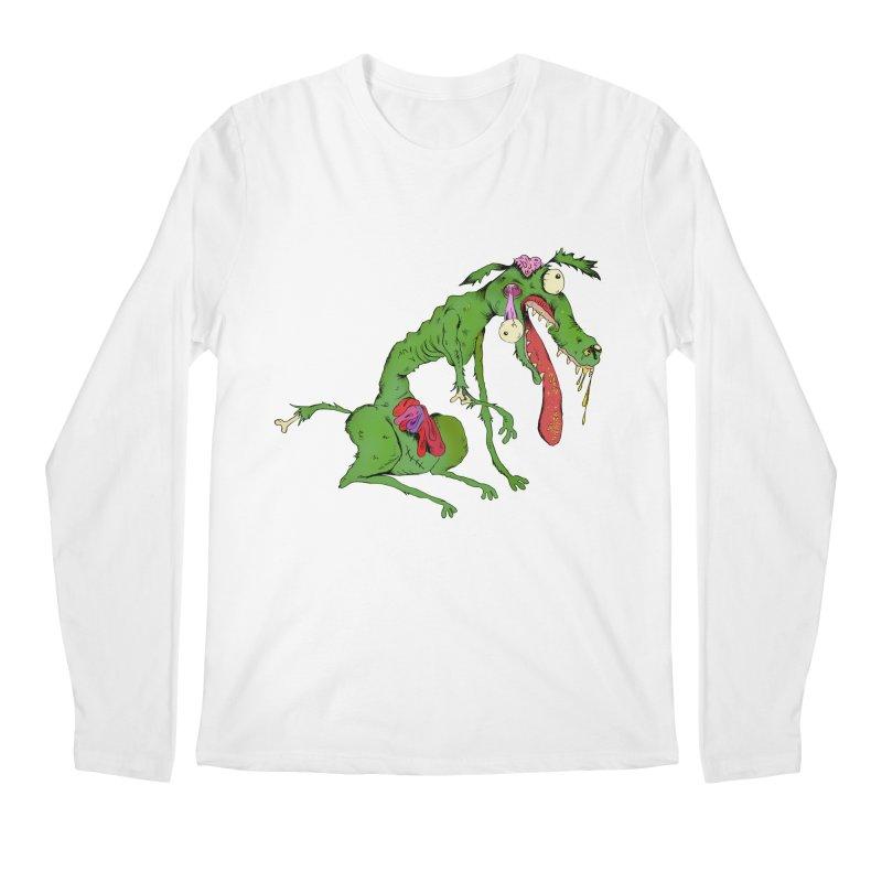 Zombie Dog Men's Longsleeve T-Shirt by Ermina Takenova