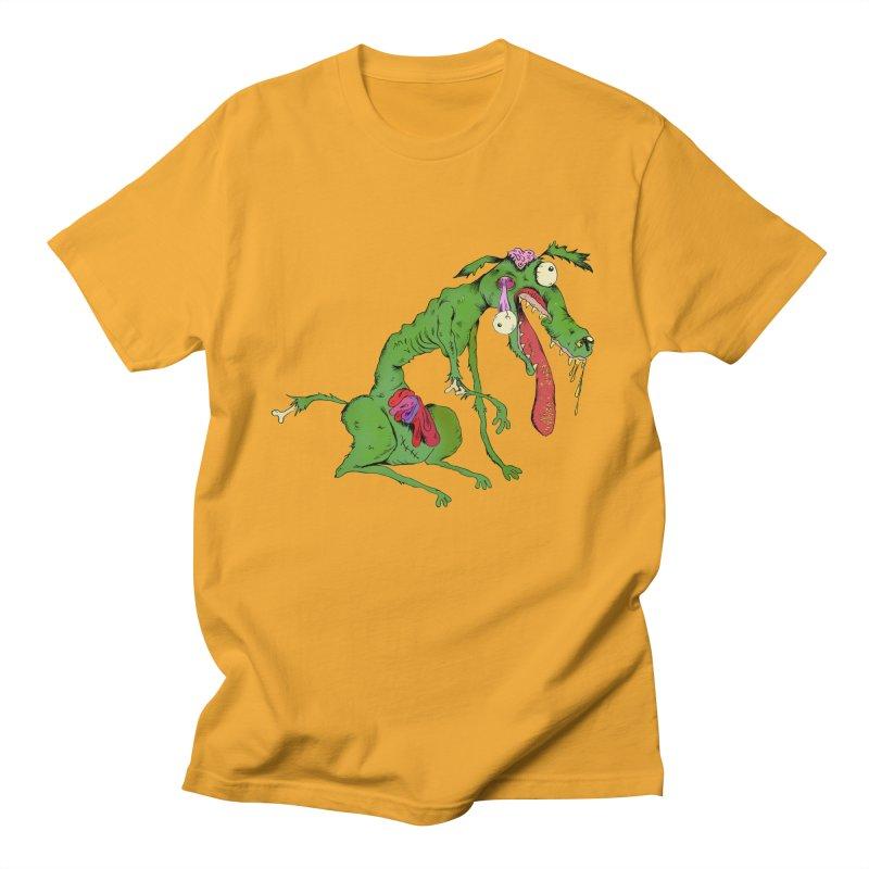 Zombie Dog Men's T-shirt by Ermina Takenova