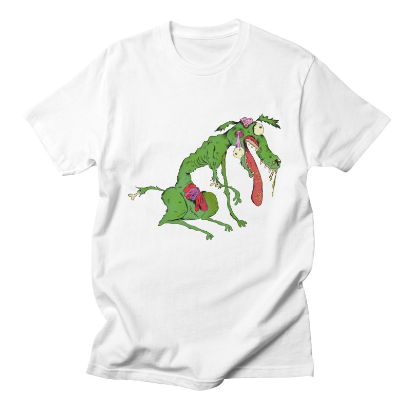 Zombie Dog Women's Unisex T-Shirt by Ermina Takenova