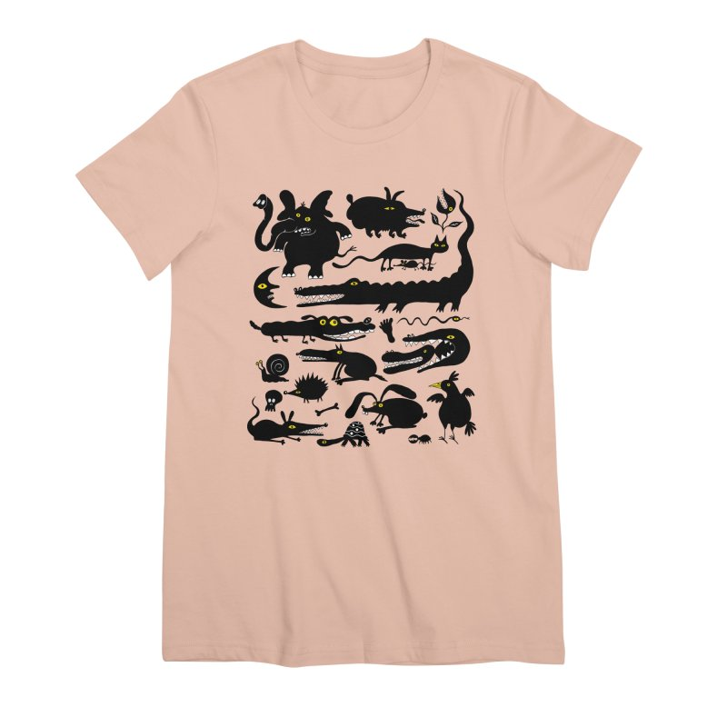 Creatures I Women's Premium T-Shirt by Ermina Takenova