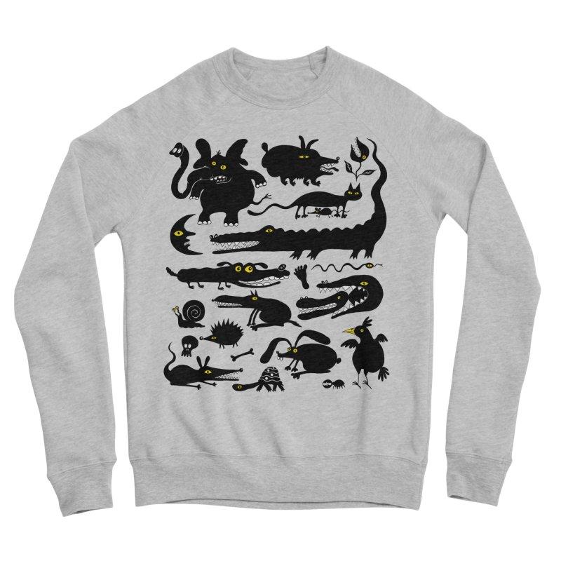Creatures I Women's Sponge Fleece Sweatshirt by Ermina Takenova