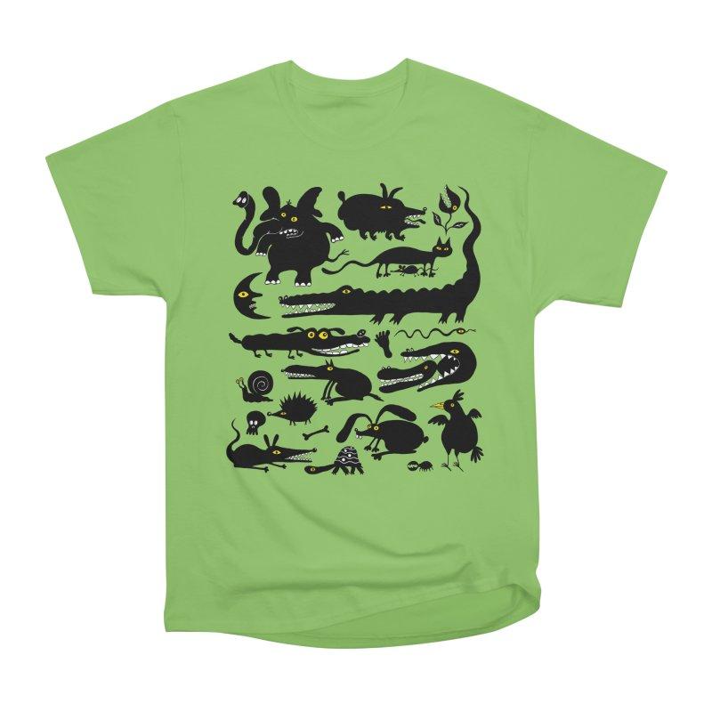 Creatures I Women's Heavyweight Unisex T-Shirt by Ermina Takenova