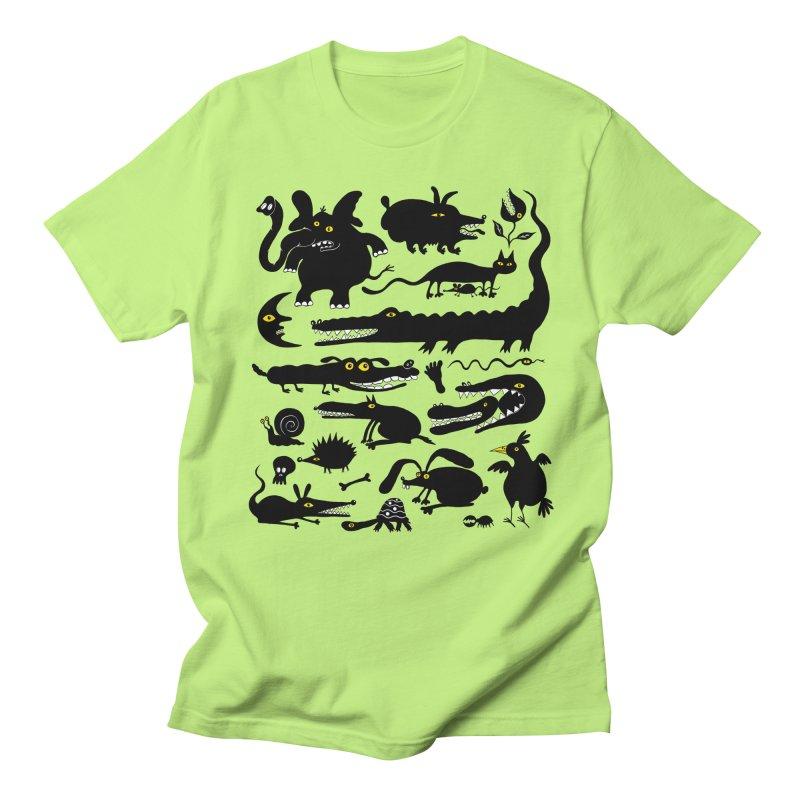 Creatures I Women's Regular Unisex T-Shirt by Ermina Takenova