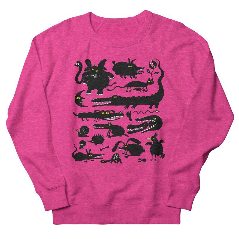 Creatures I Women's French Terry Sweatshirt by Ermina Takenova