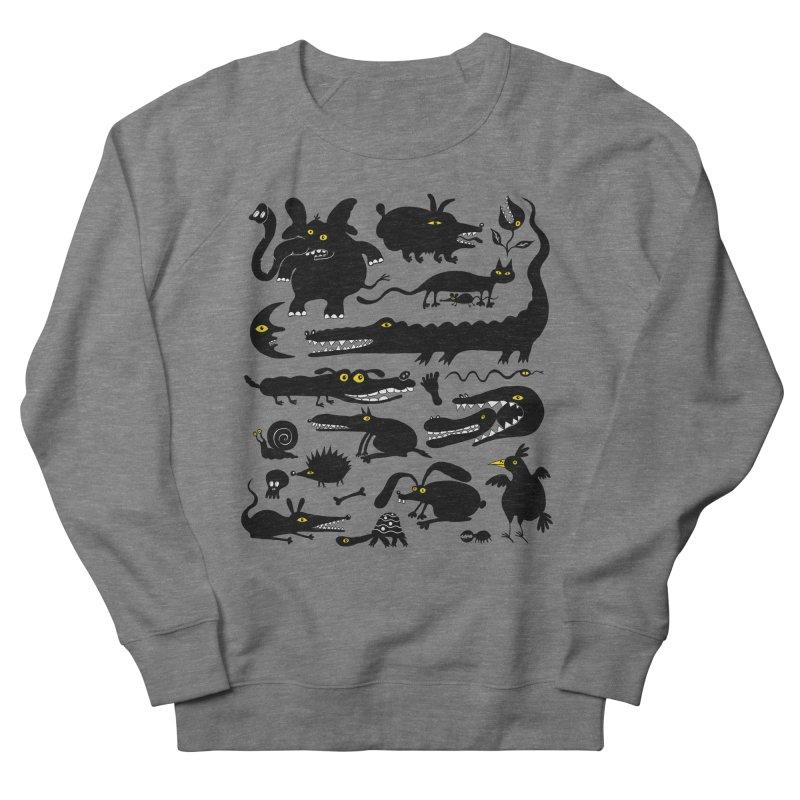 Creatures I Men's French Terry Sweatshirt by Ermina Takenova