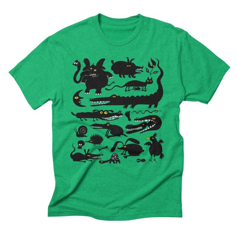 Creatures I Men's Triblend T-Shirt by Ermina Takenova
