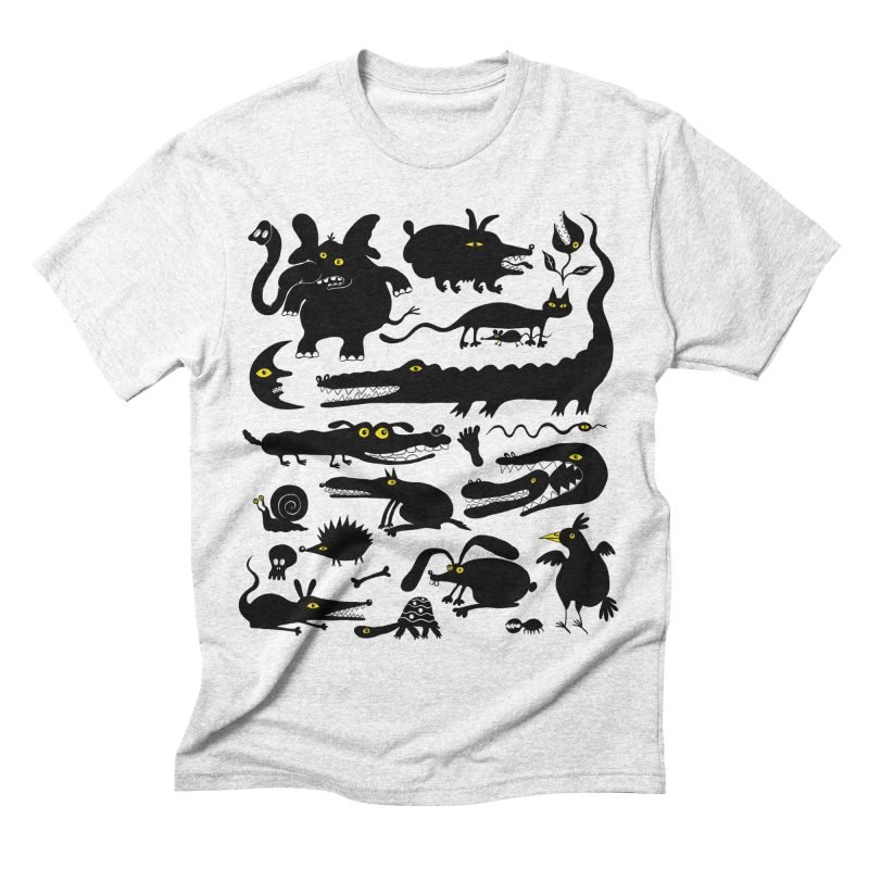 Creatures I Men's Triblend T-shirt by Ermina Takenova