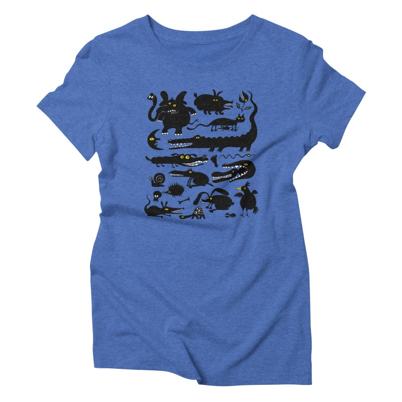 Creatures I Women's Triblend T-Shirt by Ermina Takenova