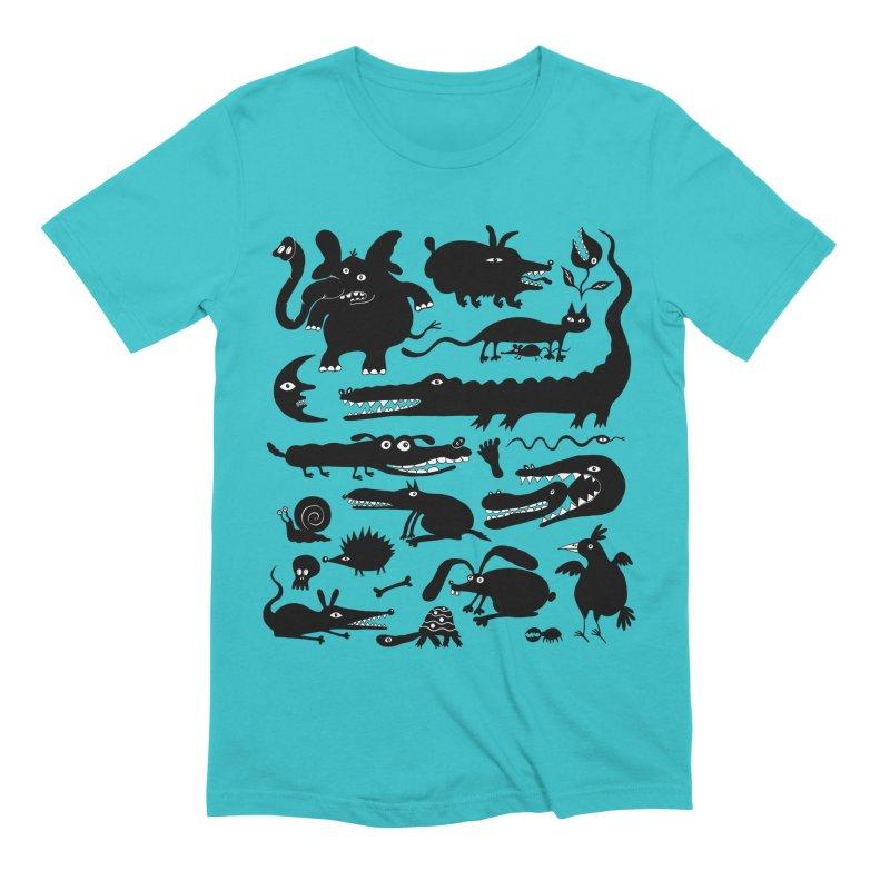 Creatures II Men's Extra Soft T-Shirt by Ermina Takenova