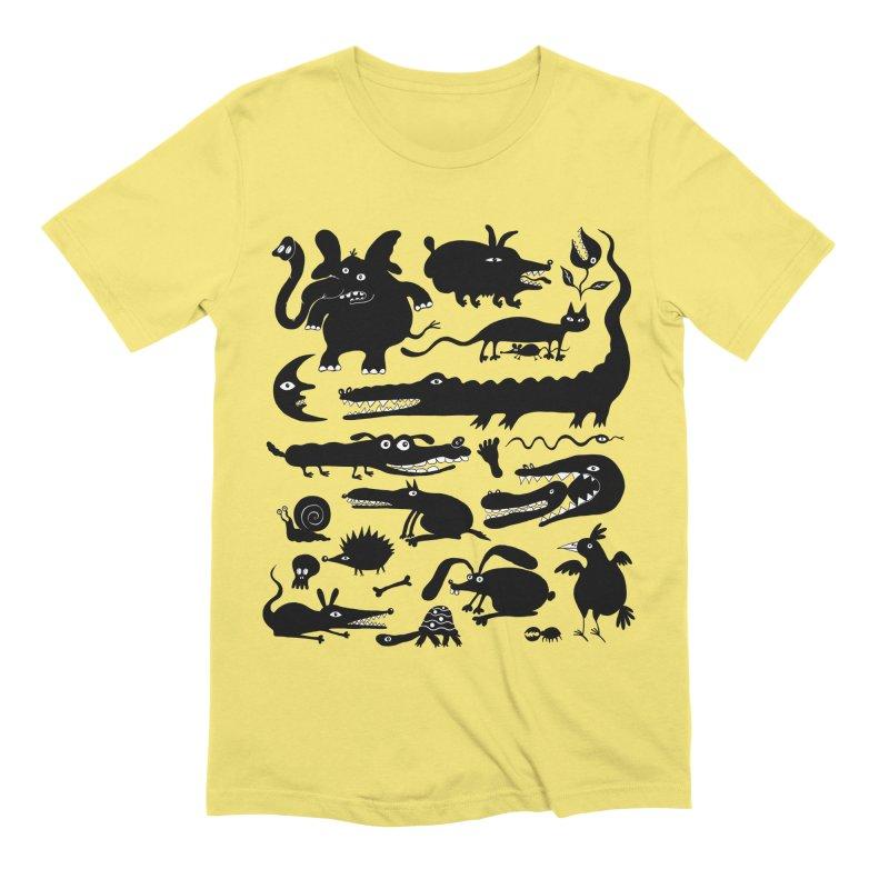 Creatures II Men's T-Shirt by Ermina Takenova