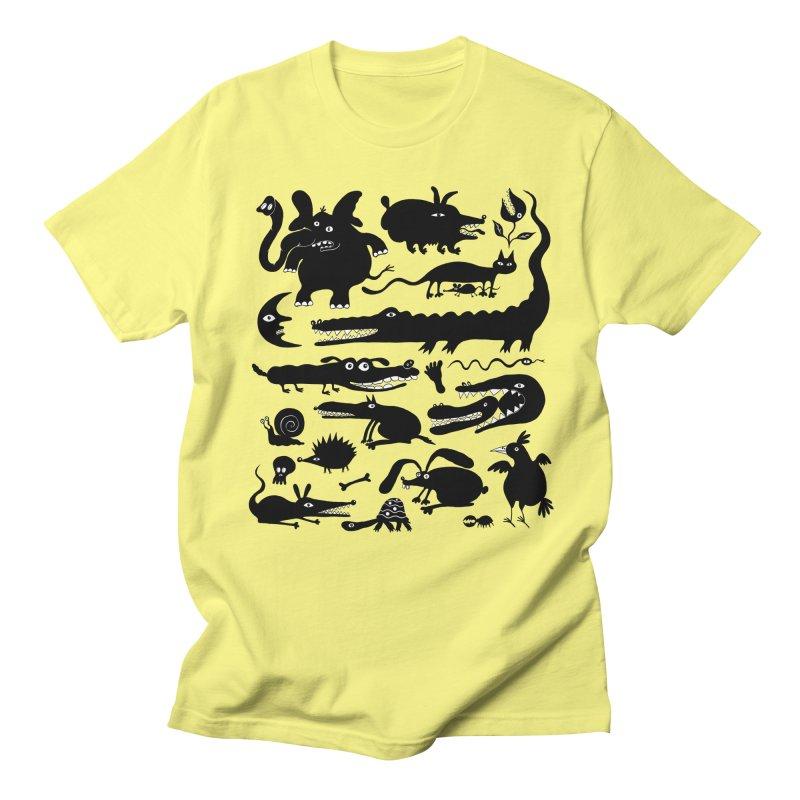 Creatures II Women's Regular Unisex T-Shirt by Ermina Takenova