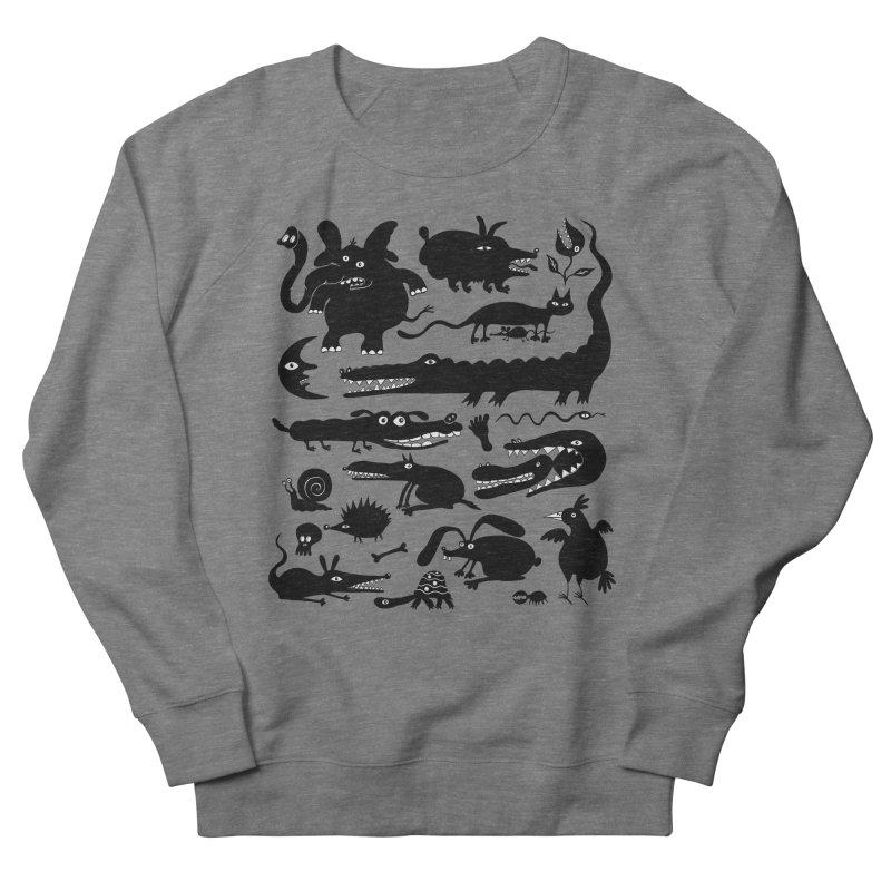 Creatures II Men's French Terry Sweatshirt by Ermina Takenova
