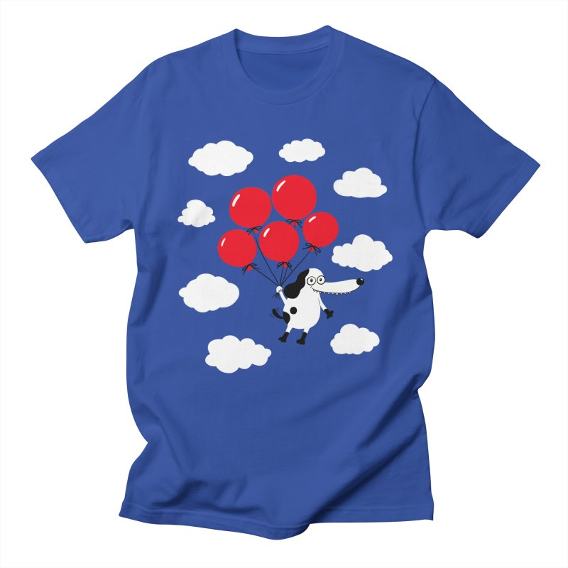 Flying Dog Women's T-Shirt by Ermina Takenova