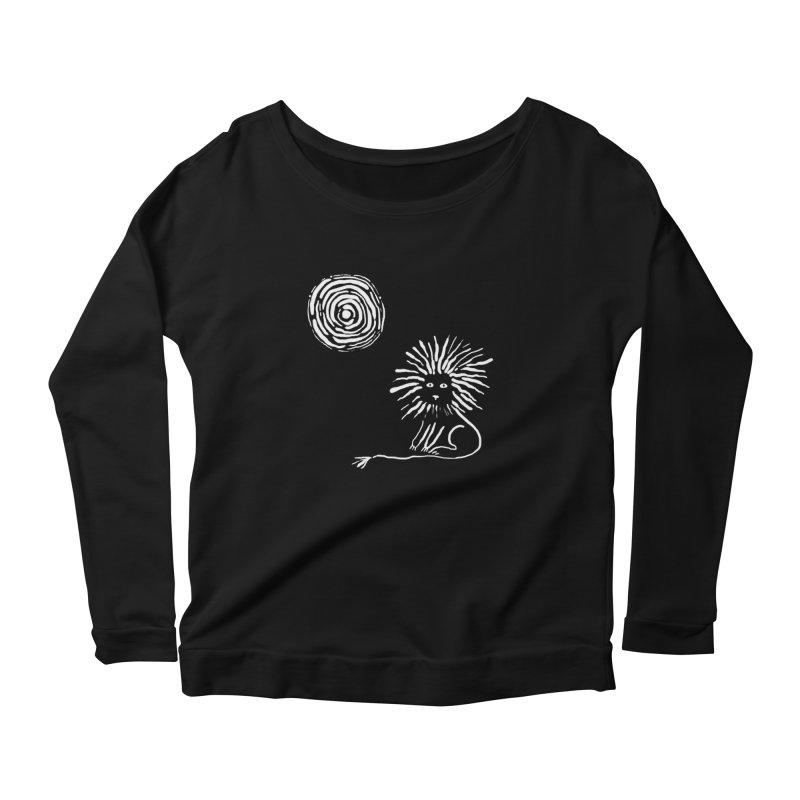 Lion in the Sun Women's Longsleeve T-Shirt by Ermina Takenova