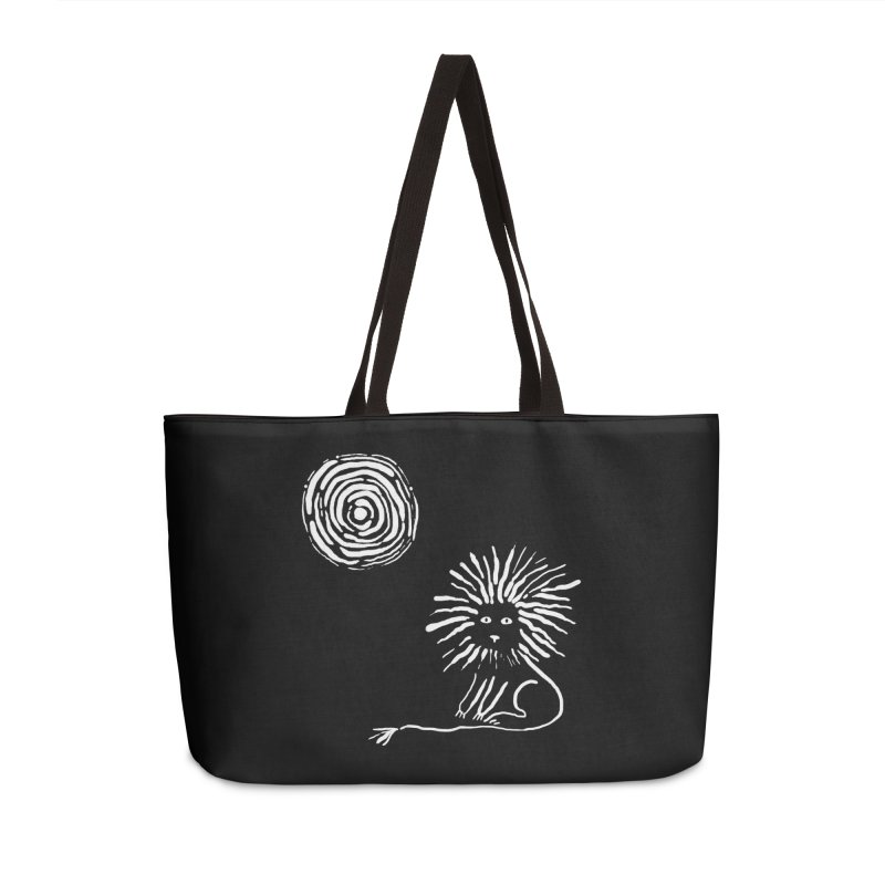 Lion in the Sun Accessories Weekender Bag Bag by Ermina Takenova