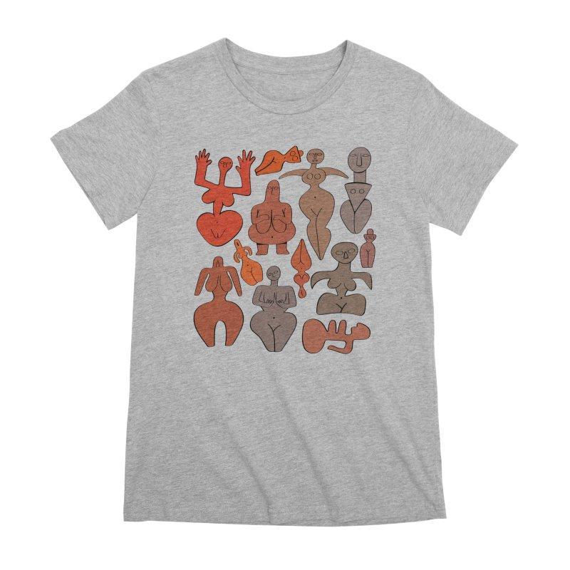 Venuses I Women's Premium T-Shirt by Ermina Takenova