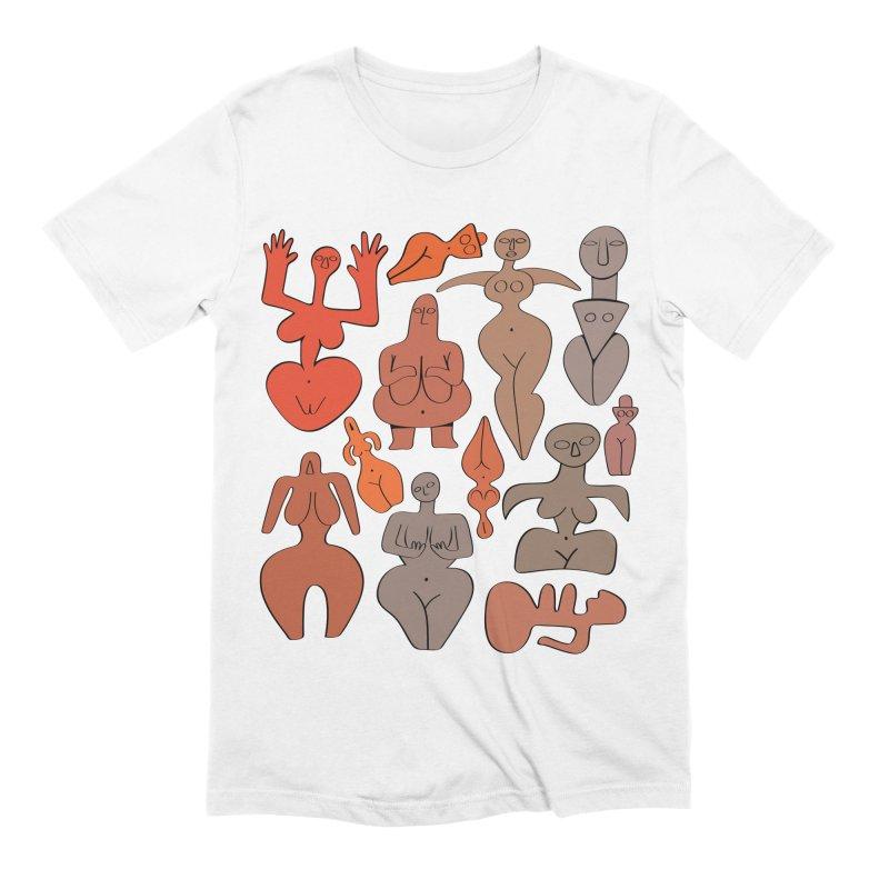 Venuses I Men's Extra Soft T-Shirt by Ermina Takenova