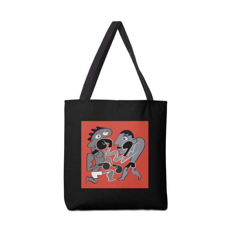 Boxers Accessories Tote Bag Bag by Ermina Takenova