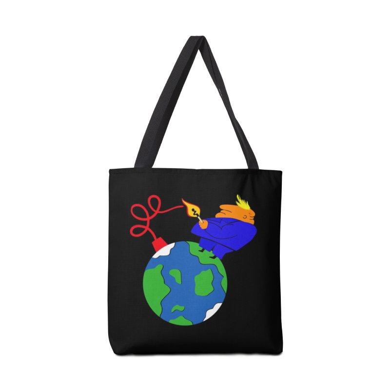 Earth in Danger Accessories Tote Bag Bag by Ermina Takenova