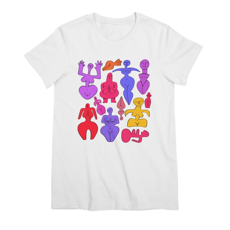 Venuses II Women's Premium T-Shirt by Ermina Takenova
