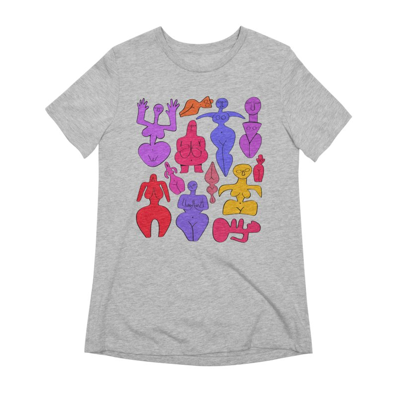 Venuses II Women's Extra Soft T-Shirt by Ermina Takenova