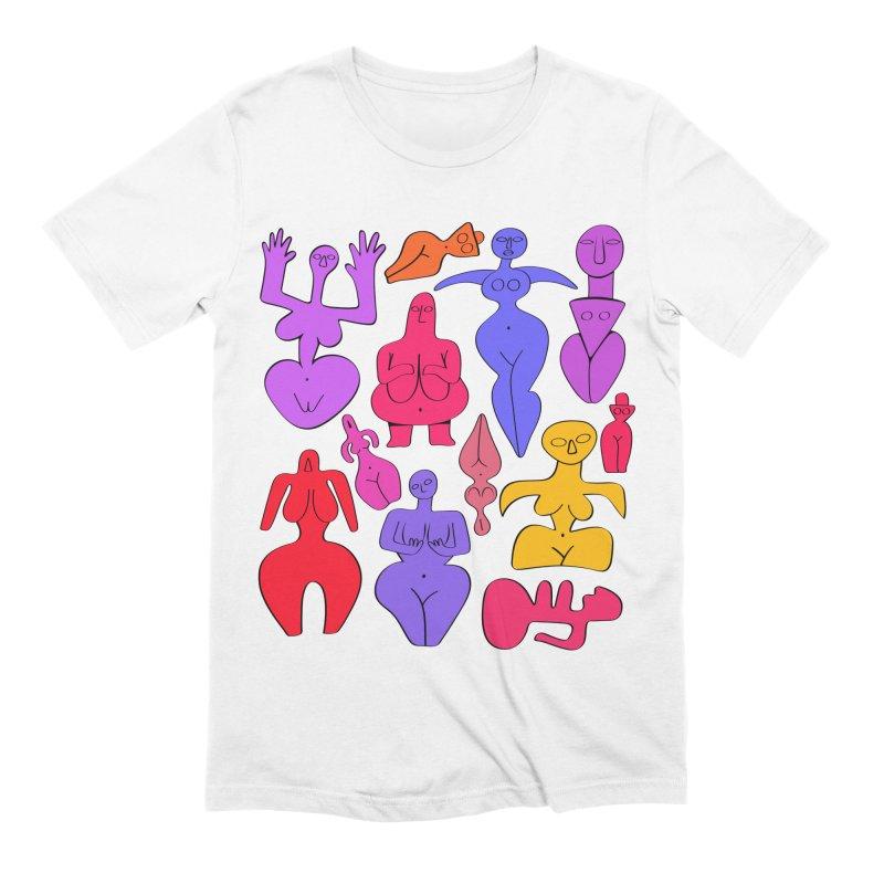 Venuses II Men's Extra Soft T-Shirt by Ermina Takenova