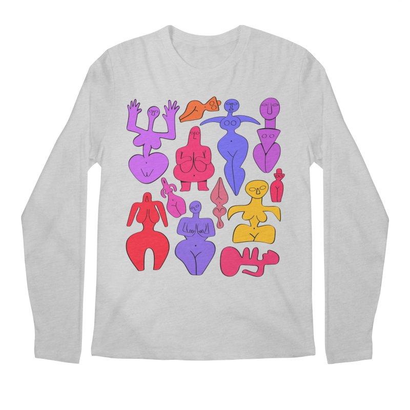 Venuses II Men's Regular Longsleeve T-Shirt by Ermina Takenova