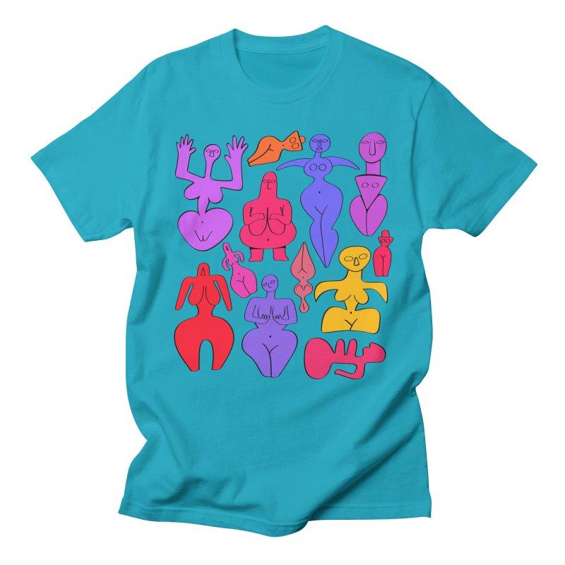 Venuses II Men's Regular T-Shirt by Ermina Takenova