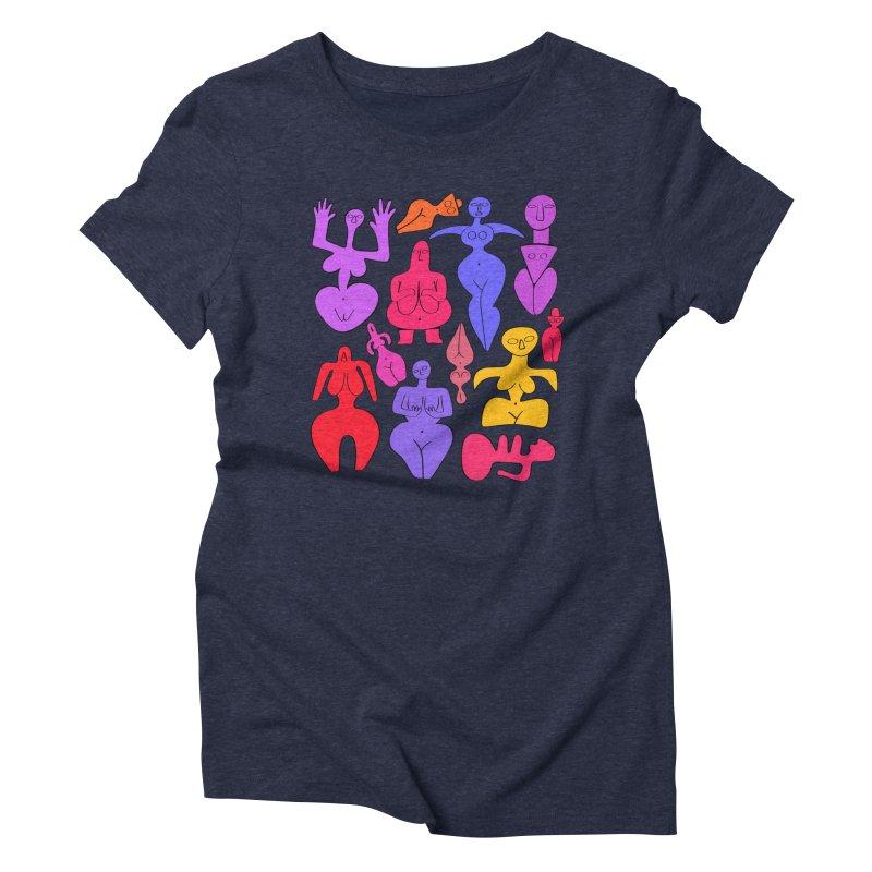 Venuses II Women's Triblend T-Shirt by Ermina Takenova