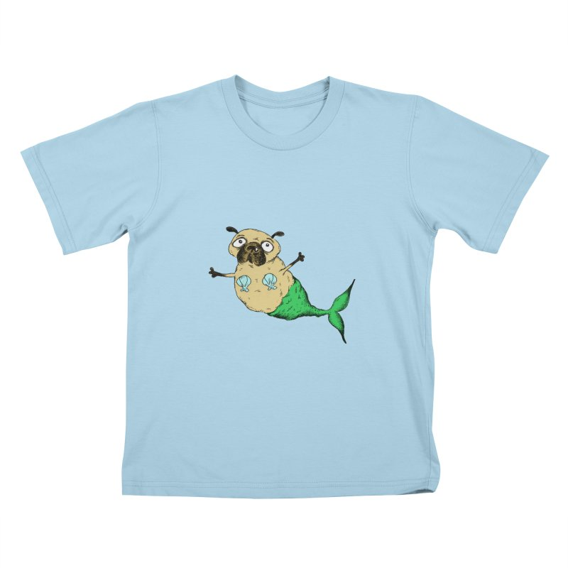 Pugmaid Kids T-Shirt by Ermina Takenova